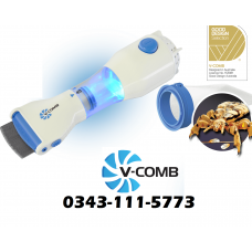 Electric Treatment Anti Lice V-Comb Machine, Chemical Free Treatment, Removes Lice Eggs