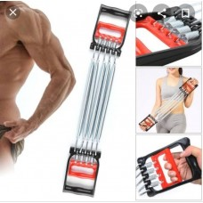 Chest Expander Cum Hand Grip 2 in 1 Exercise Tool