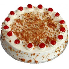Vanilla Caramel Crunch Cake 2lbs - For Lahore Only