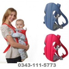 Adjustable Hands-Free Baby Carrier Bag with Comfortable Head Support