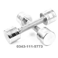 Pair of Dumbbells-2KG-Silver