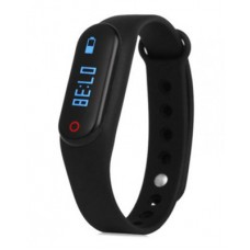 Black Smart Touch Operated Activity Tracker
