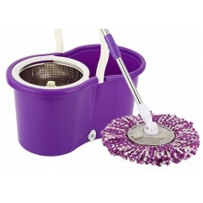 Easy Spin Mop 360 Rotate Stainless Steel Spinner Mop