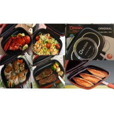 Dessini Double Sided Grill Pan in Pakistan -40cm- Made in Italy