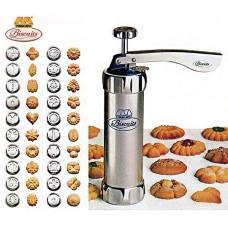 Biscuits Maker/Cookie Press Kit - Cookie Press Making Gun Biscuits Cake Mold Cookie Press Maker Machine Dessert Decoration Kitchen Bakin Tools