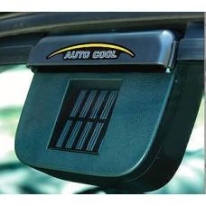 Solar Powered Vent Fan Car Auto Cool