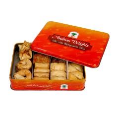 Arabian Mix Sweets Tin Box- 1 Kg (Sugar free)